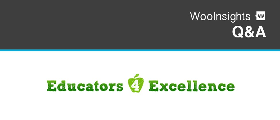 WooInsights Educators4Excellence Banner